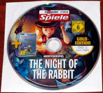 The Night of the Rabbit & Chronology CD CBS 07/2016