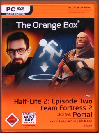 The Orange Box - Half-Life 2: Episode Two - Team Fortress 2 - Portal PC DVD-ROM Deutsche Version Valve 2007