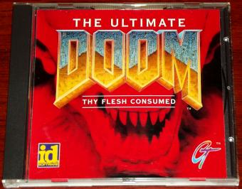 The Ultimate Doom - mit zusätzlicher Episode (Thy Flesh Consumed) von id Software / GT Interactive 1993/95
