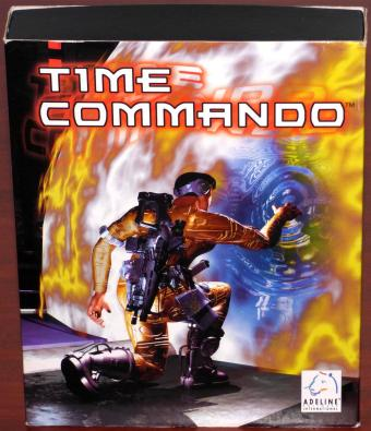 Time Commando MS-DOS/Win95 PC CD-ROM Adeline Software International/Electronic Arts Bigbox 1996