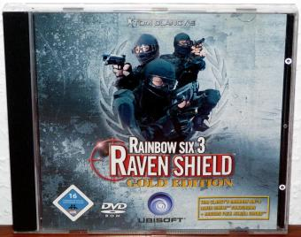 Tom Clancy's Rainbow Six - Raven Shield Gold Edition - Red Storm Entertainment/Ubisoft DVD 2004