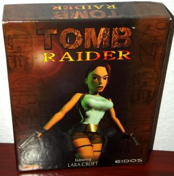 Tomb Raider featuring Lara Croft (English in OVP) Core Design / Eidos Interactive 1996