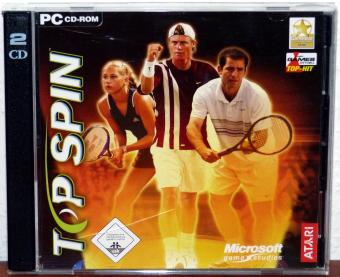 Top Spin - ATARI/Microsoft Game Studios 2CDs 2003