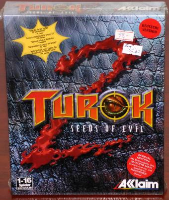 Turok 2 Seeds of Evil Special-Edition Deutsche Version 3dfx NEU/OVP Acclaim Entertainment 1999