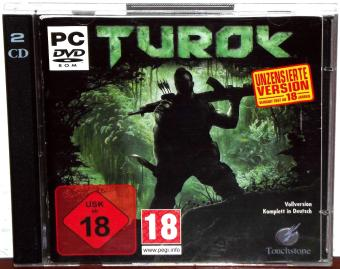 Turok Unzensierte Version USK18 in Deutsch - Touchstone / Propaganda Games 2009