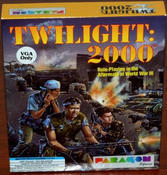 Twilight 2000 - IBM AT/PS1/PS2 & Compatibles - Paragon Software/MicroProse Software Inc. Neu versiegelt /OVP 1991
