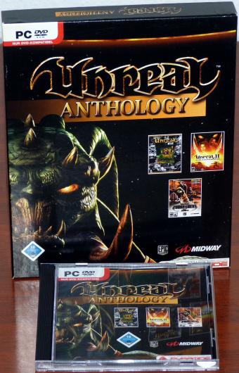 Unreal Anthology Big-Box PC DVD Epic Games/Midway 2006
