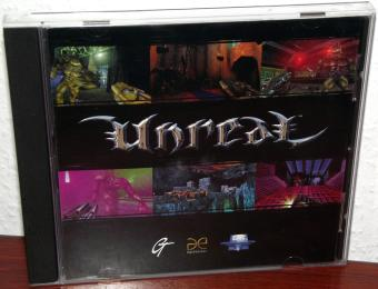 Unreal mit Cover & Jewelscase, englische Version