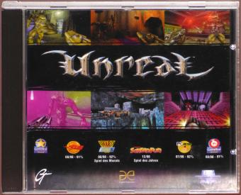 Unreal PC CD-ROM GT/Epic Megagames 1998