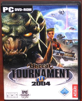 Unreal Tournament 2004 Linux inklusive Handbuch Epic Games / ATARI