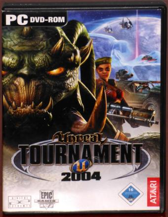Unreal Tournament 2004 PC DVD-ROM inkl. Handbuch Linux Epic Games/Digital Extremes/ATARI