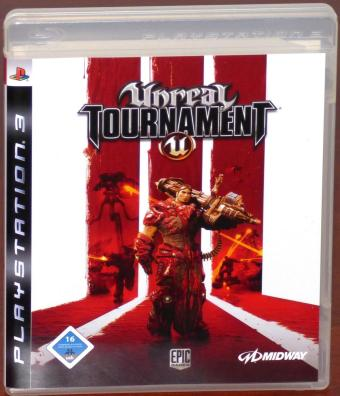 Unreal Tournament PlayStation (PS3) Blu-ray Disc Epic Games/Midway 2008