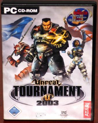 Unreal Tournament 2003 mit Bonus-CD 3CDs Epic Games/Digital Extremes/ATARI