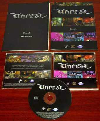 Unreal - in Jewel-Case mit Anleitungen