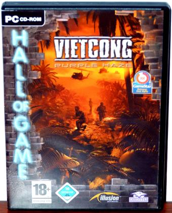Vietcong  Purple Haze - Illusion Softworks/Pterodom 4CDs 2005