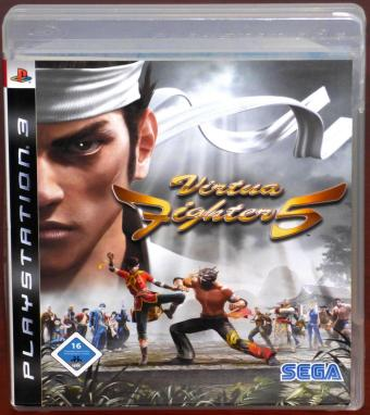 Virtua Fighter 5 PlayStation PS3 Sony/SEGA Blu-ray Disc 2007