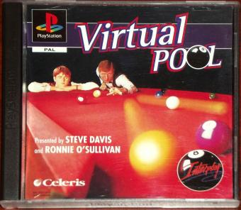 PS1 Game - Virtual Pool - Celeris / Interplay 1996