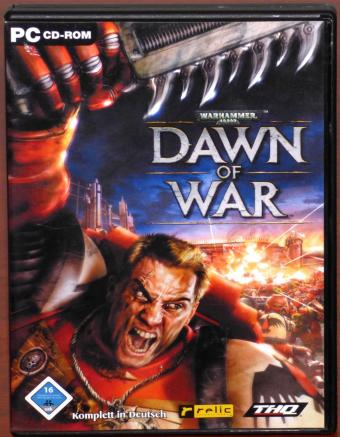 Warhammer 40000: Dawn of War PC CD-ROM relic Entertainment/THQ 2004