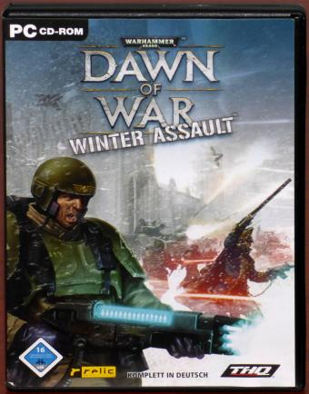 Warhammer 40000: Dawn of War - Winter Assault PC CD-ROM relic/THQ 2004