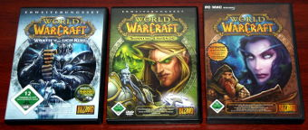 World of WarCraft mit Erweiterungssets