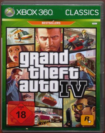 XBOX 360 Grand Theft Auto IV - Willkommen in Liberty City Rockstar Games/Take 2 Interactive 2009
