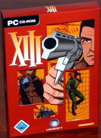 XIII The Game 4CDs Ubisoft/Dargaud 2003