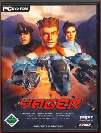 Yager PC DVD yager Development GmbH/THQ 2003