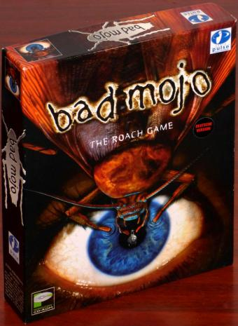 bad mojo - The Roach Game PC CD-ROM BigBox OVP Rapid Pulse Entertainment/Acclaim 1996