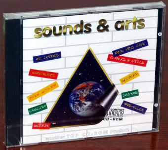 sounds & arts - 4k Intros, Game Demos, Mod, Voc, Wave, Sounds, BBS-Files, Spiele-Demos over 600MB TOP CD-ROM 1995