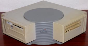 Packard Bell Packmate Multi-Media Intel Pentium CPU Inside, VGA Sound & Modem onBoard, CD-ROM Name: Packmate MM-50100-C Model: A950-SOME570 PN: 3519043003-FN-QQLZD Assembled in France