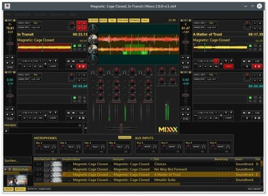 MIXXX - Mixing Engine